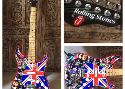 Rolling Stones Tribute Guitar