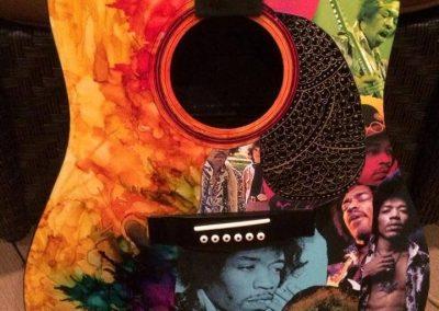 Jimi Hendrix Guitar Art
