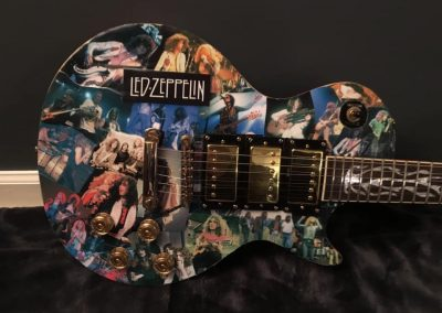 Led Zepplin Guitar Art - Les Paul