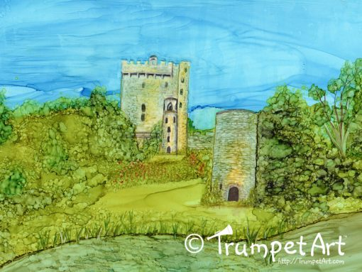 Blarney Castle Ireland Art Print