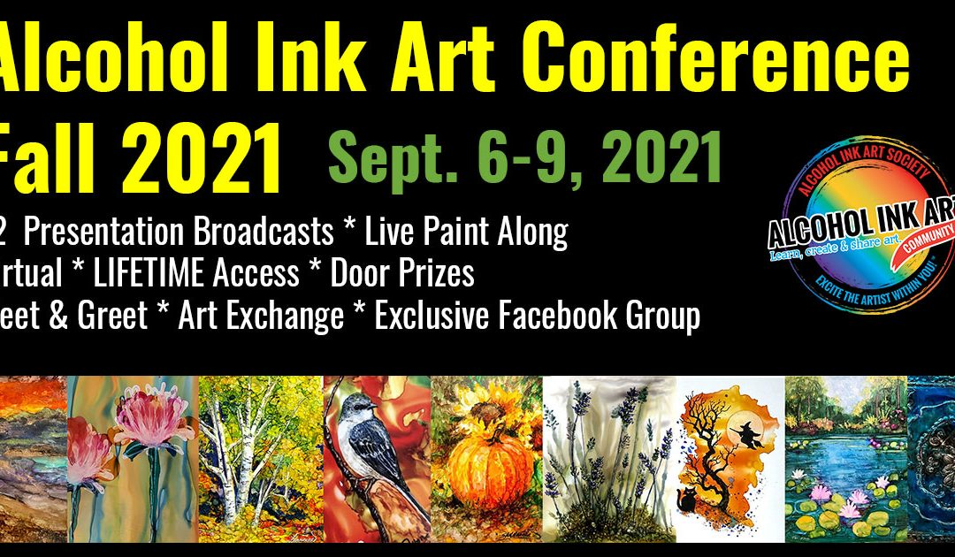 Alcohol Ink Art Conference