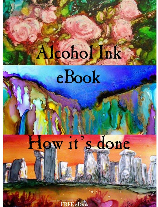 Free Alchohol Ink eBook!