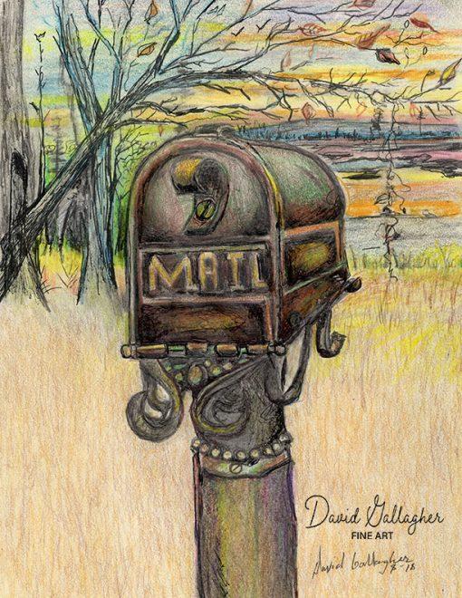 Got Mail? Fine Art Print